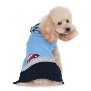 PP CAR DOG SWEATER